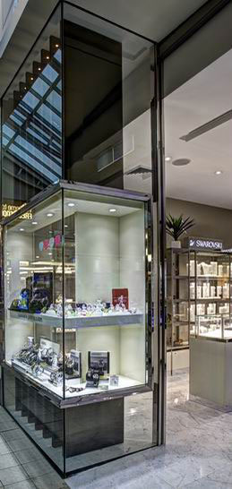 Sydney & Byron Bay Architect Fin New retail store for Zanardi Jewellers incorporating branding
