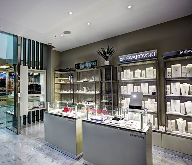 Sydney & Byron Bay Architects New retail store design fitout Zanardi Jewellers