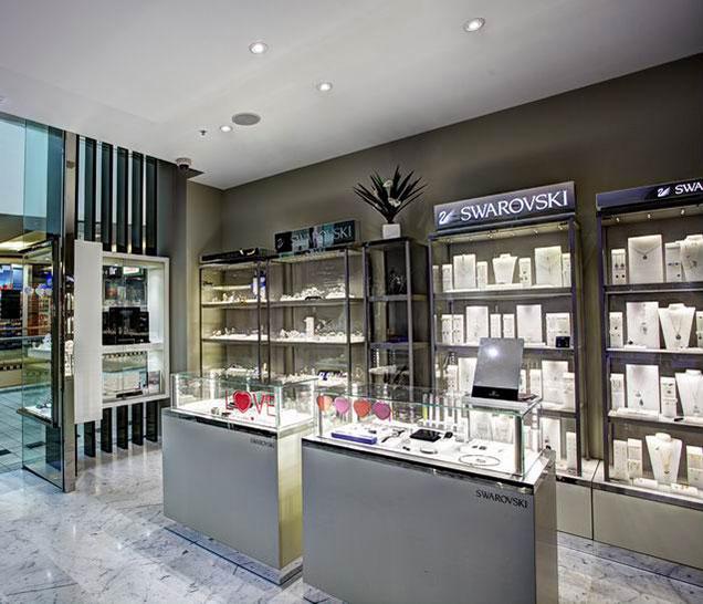 Sydney & Byron Bay Architects New retail store design fitout Zanardi Jewellers