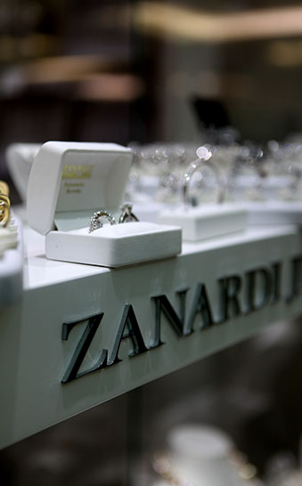 Sydney & Byron Bay Architects New retail store design Zanardi Jewellers