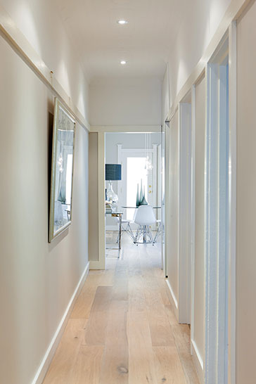 Architect Fin Sydney, Refurbishment and renovation of Paddington apartment retaining existing character