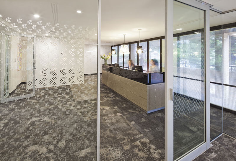 Architect Fin Sydney Byron Bay Commercial Office redesign and fit-out for Lamb & Walters
