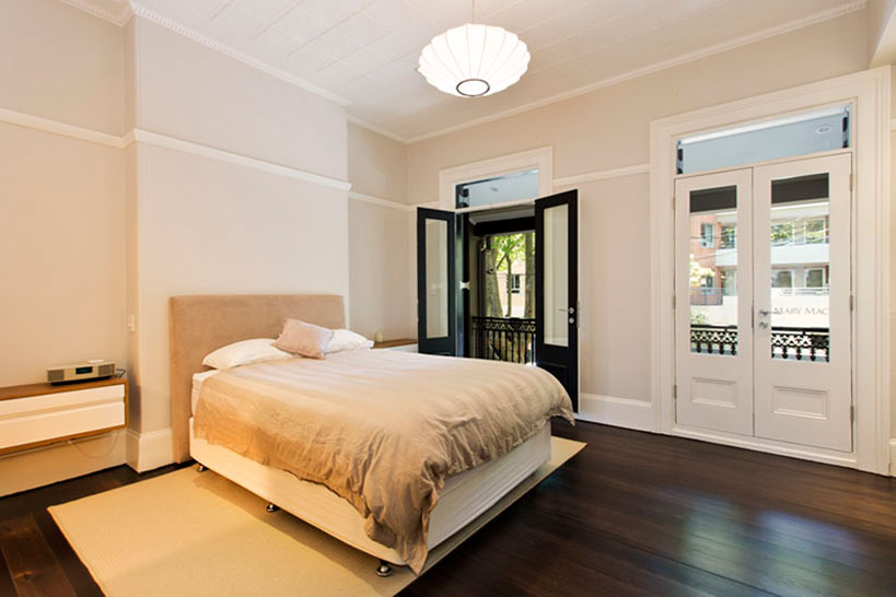 Sydney and Byron Bay Architects Fin Murray Surry Hills Terrace house renovations and designs