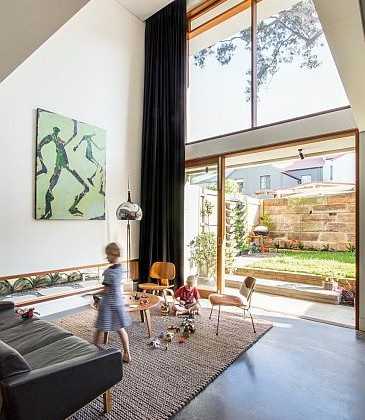 New contemporary Redfern house design - Sydney and Byron Bay Architect Fin Murray