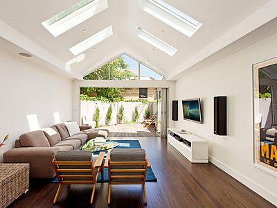 Architect Fin Sydney Terrace house design renovations Surry Hills